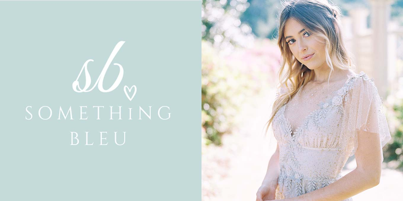 Something Bleu Logo | Soleil Wedding Dress