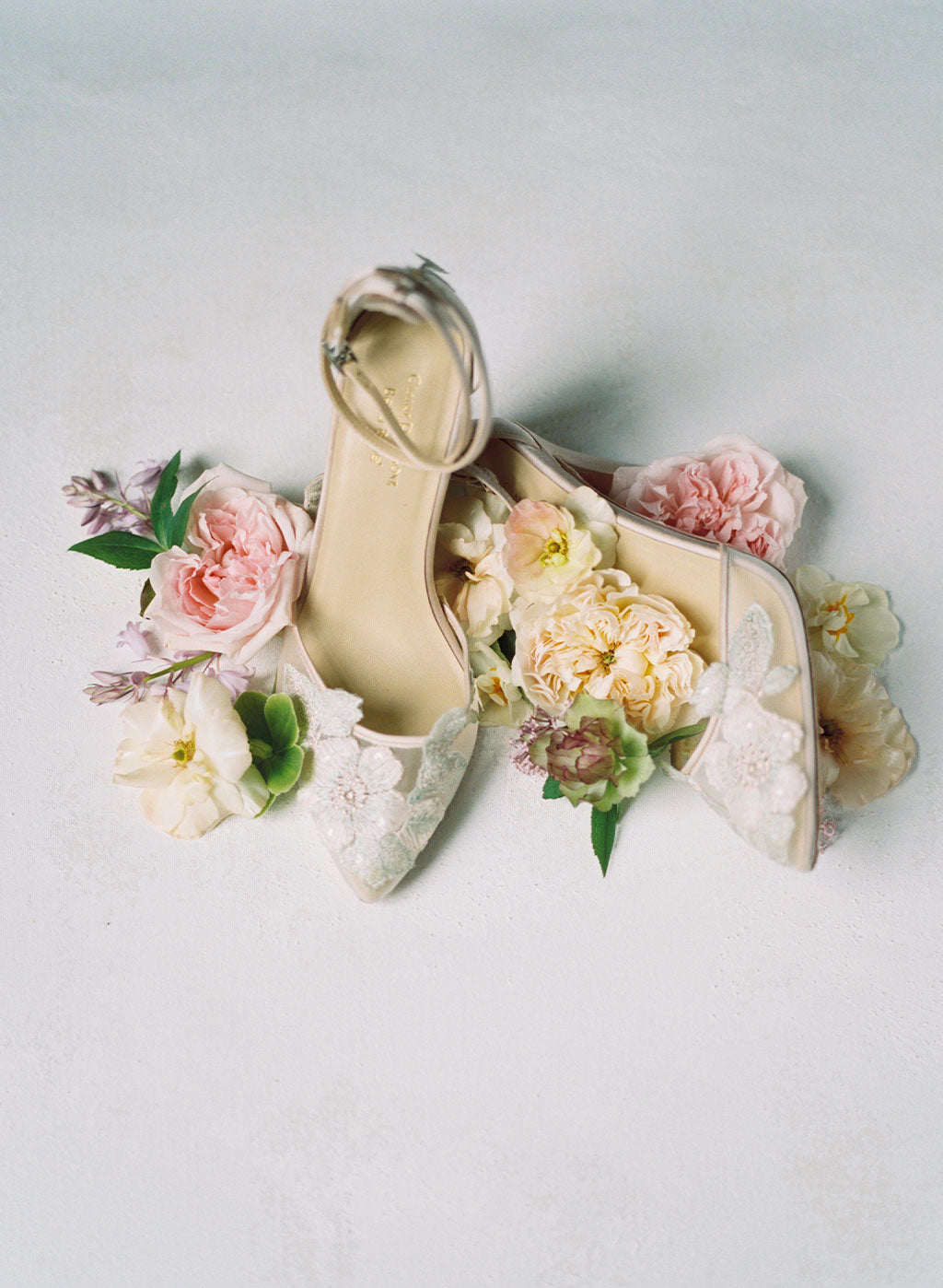 Freya Wedding Shoes by Claire Pettibone for Bella Belle