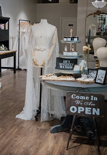 Love Theory Bridal Salon Geneva IL Interior