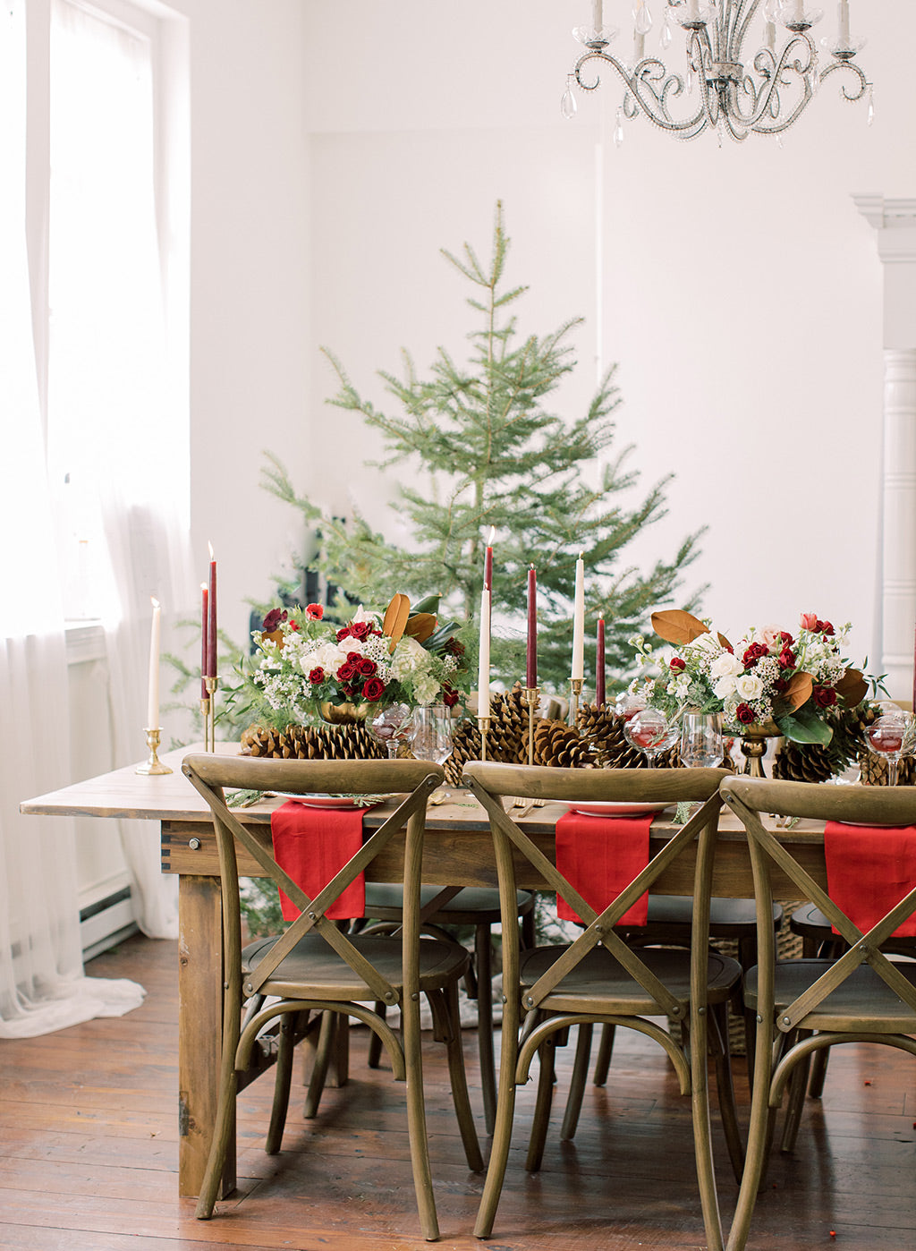 Wedding Tabletop Christmas wedding desgin