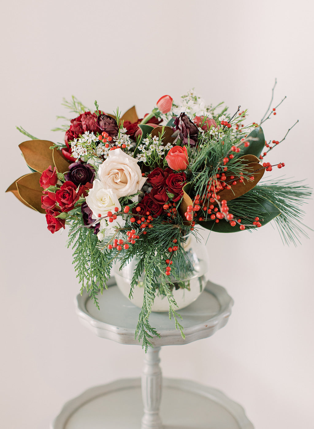 Floral wedding boquet