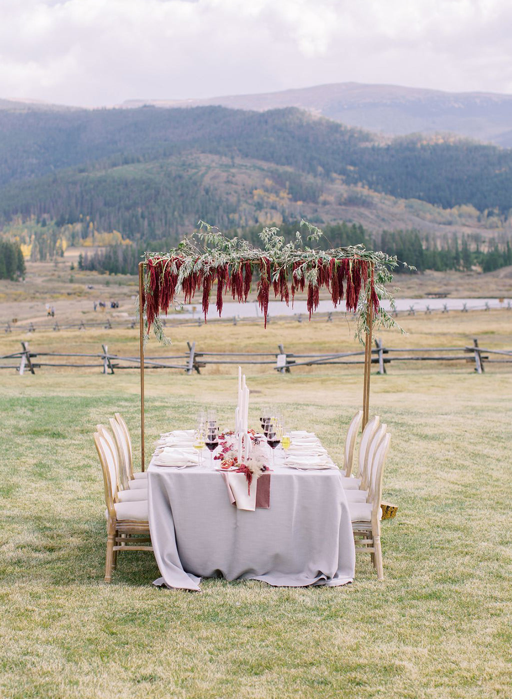 Wedding Inspiration Outdoors