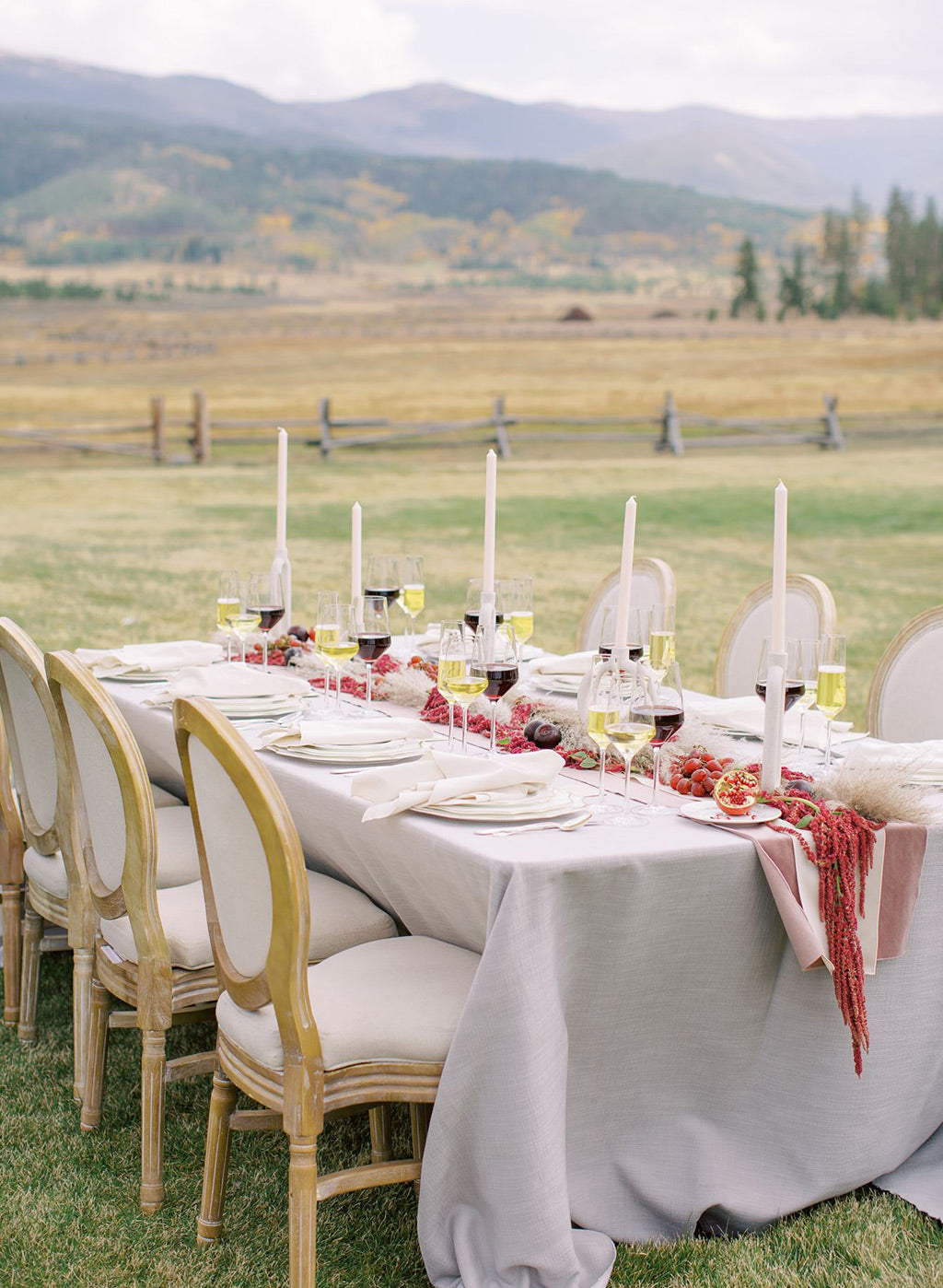 Wedding Inspiration Table Scape