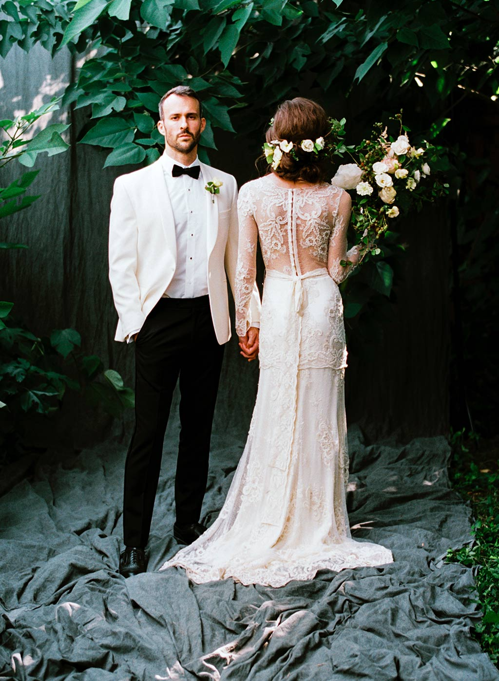 Wedding Style Bridal Couple