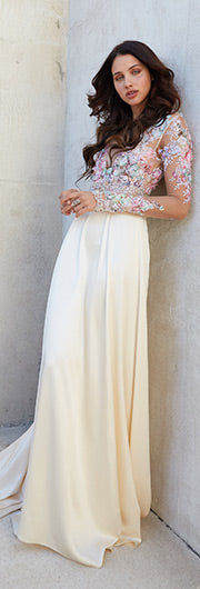 Couture Wedding Dress by Claire Pettibone Santorini