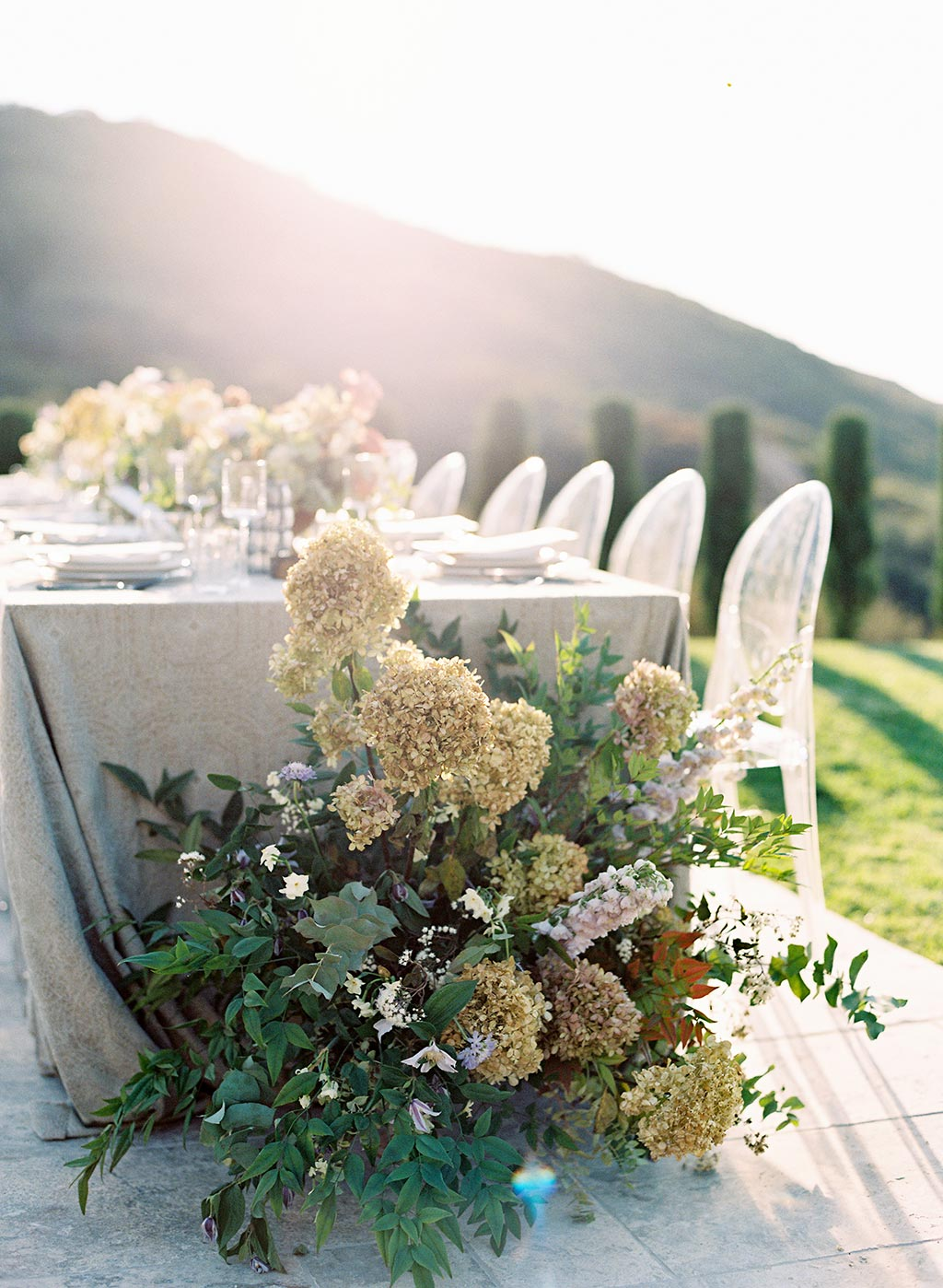 Wedding Floral Décor and Table Top Design