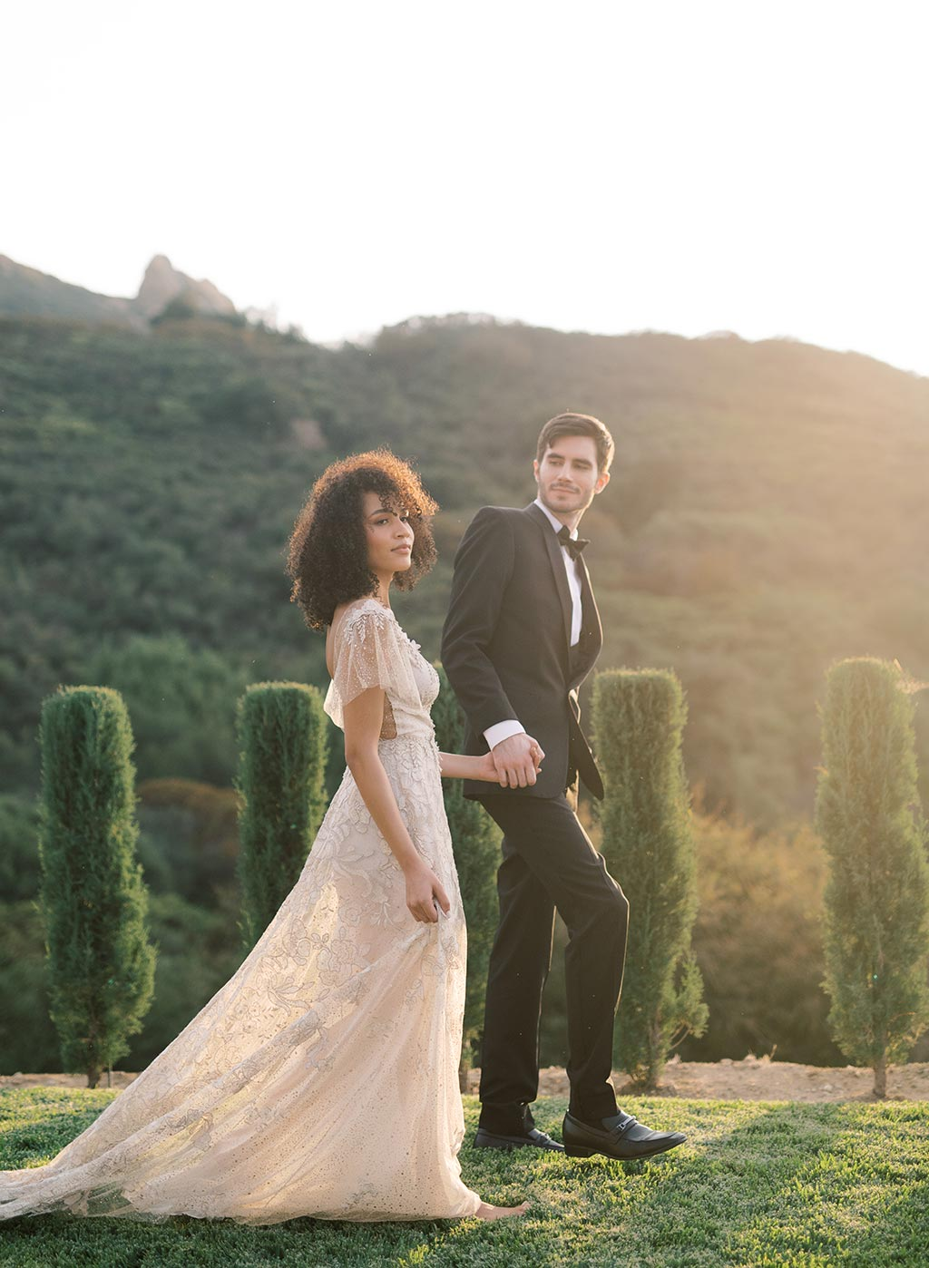 Soleil Couture Wedding Dress by Claire Pettibone