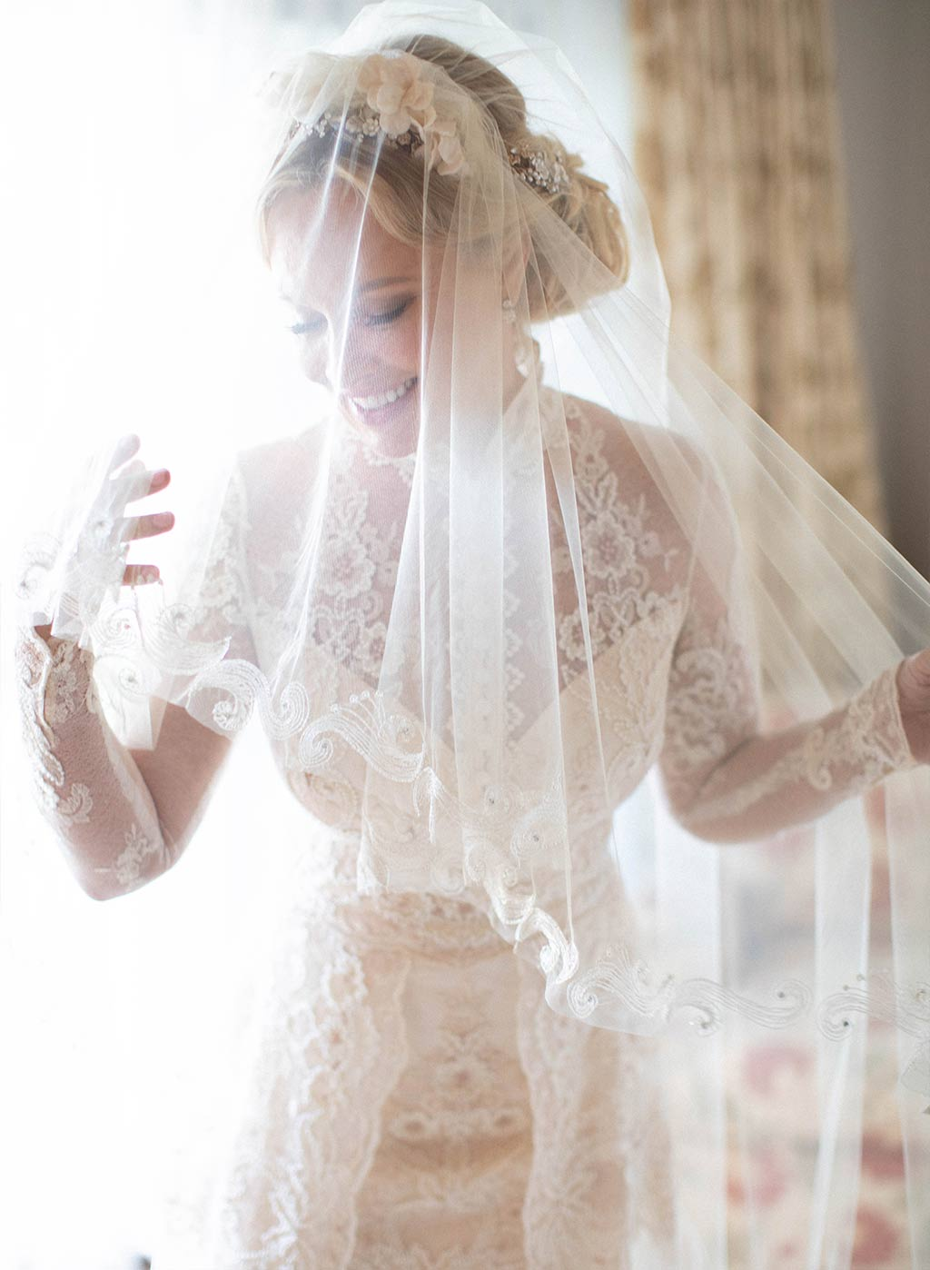 Bride with Wedding Veil