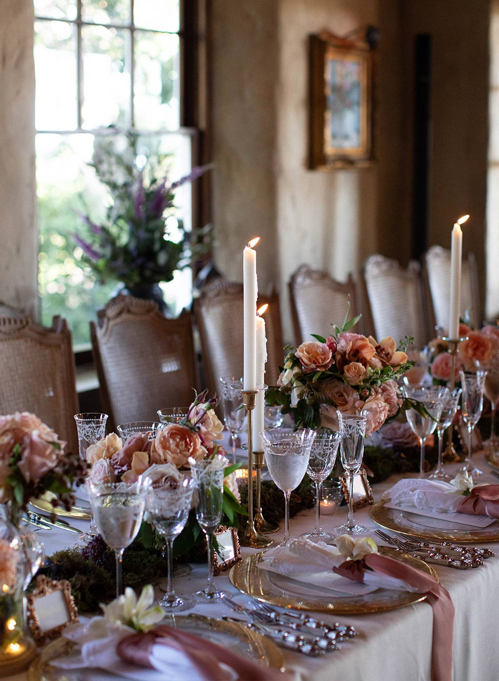 Elegant Wedding Table Top Design