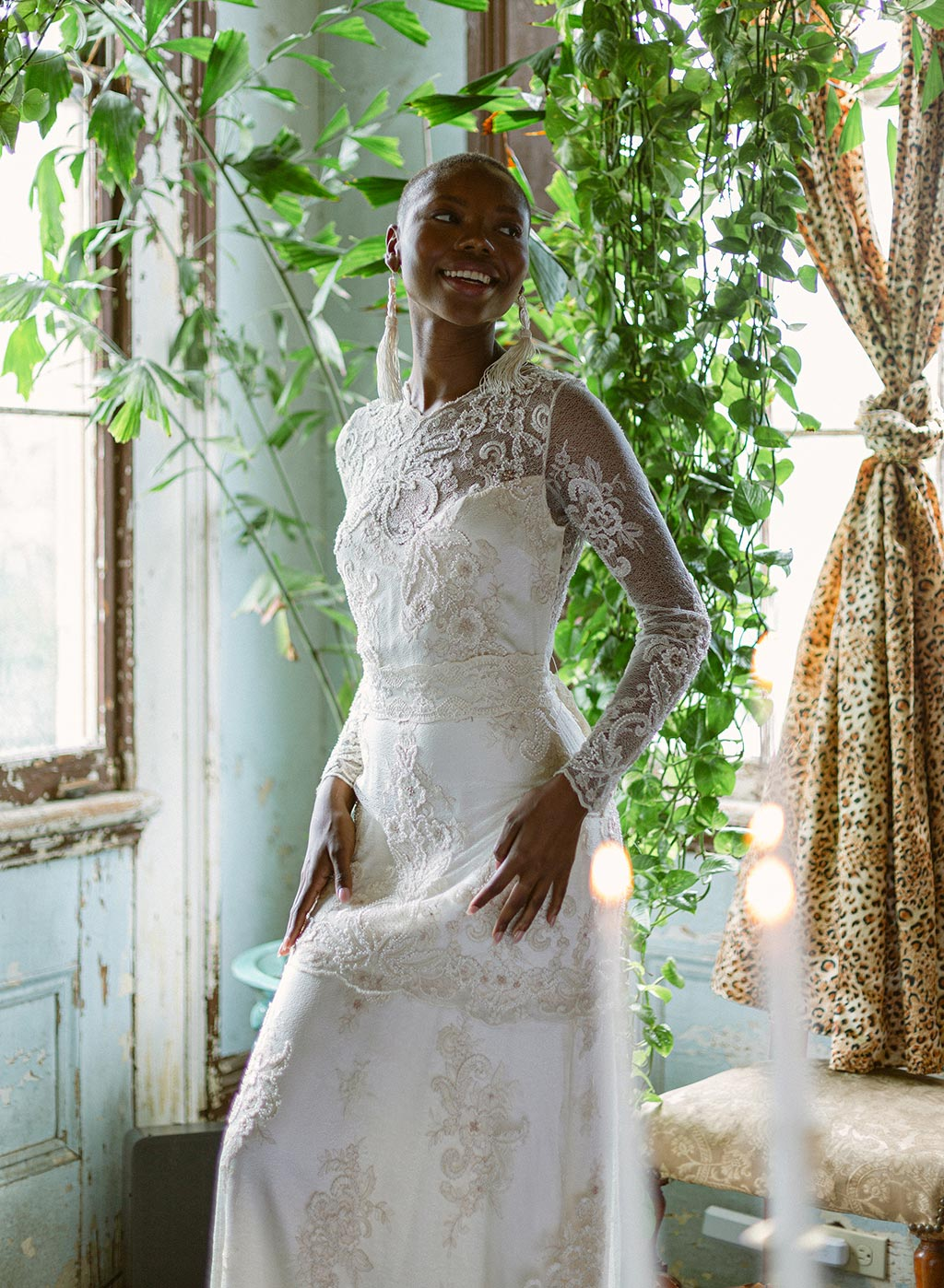 Pearle Wedding Dress By Claire Pettibone