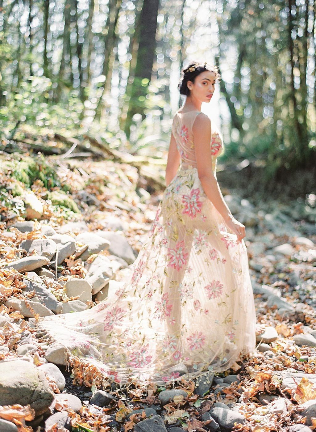 Designer Wedding Dress by Claire Pettibone