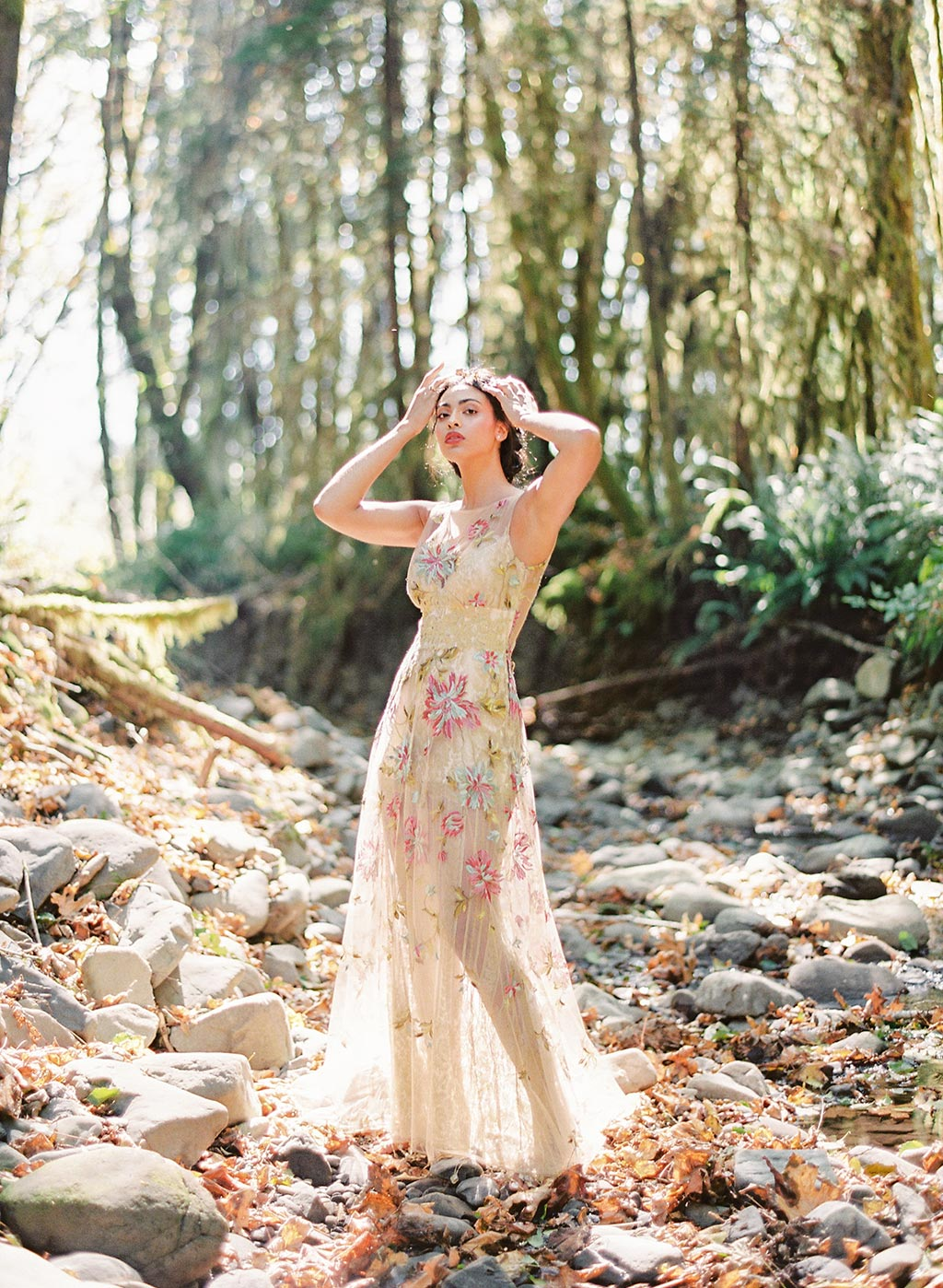 Couture Wedding Dress Shangria-La by Claire Pettibone