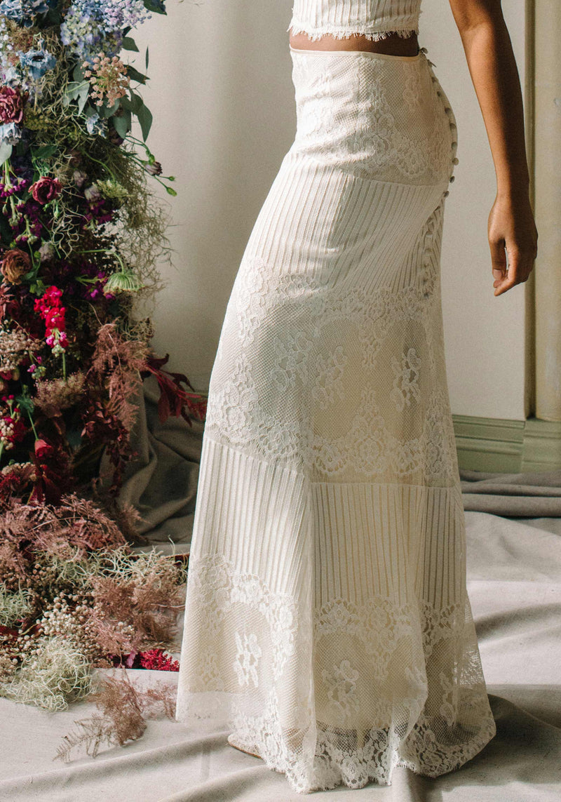 Antoinette Long Lace Skirt