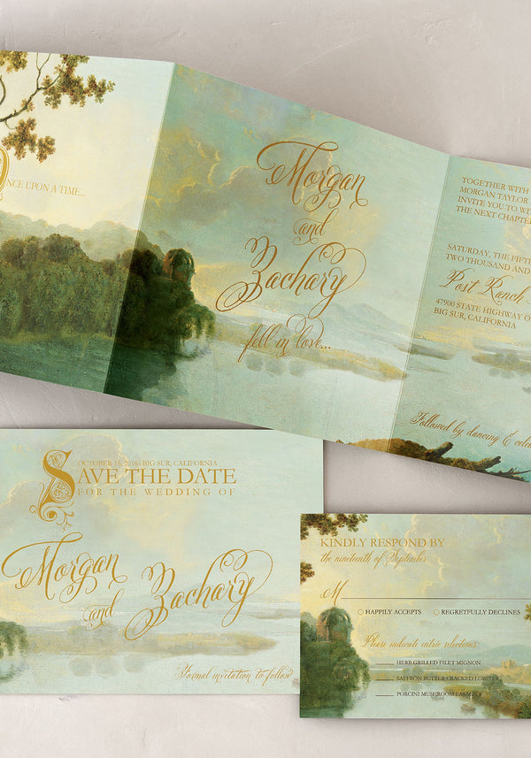 Fairy Tale Wedding Invitation Suite