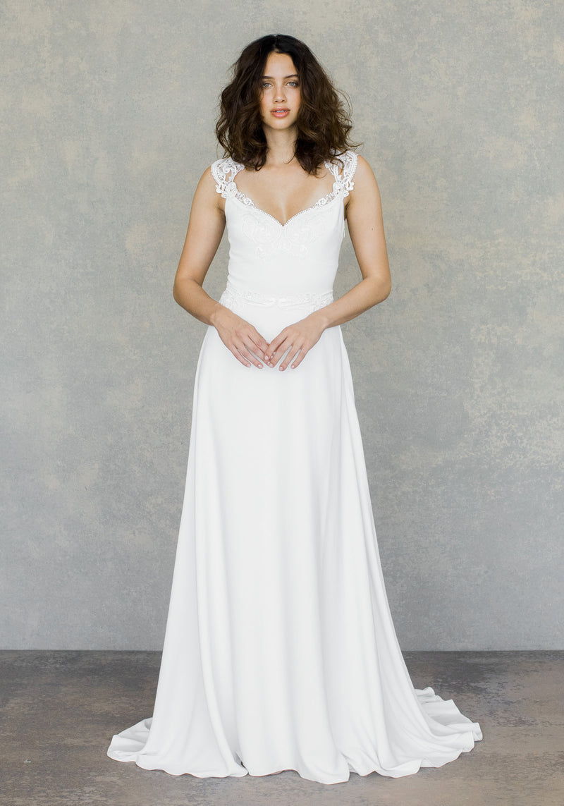 Romantique by Claire Pettibone Swan Wedding Dress