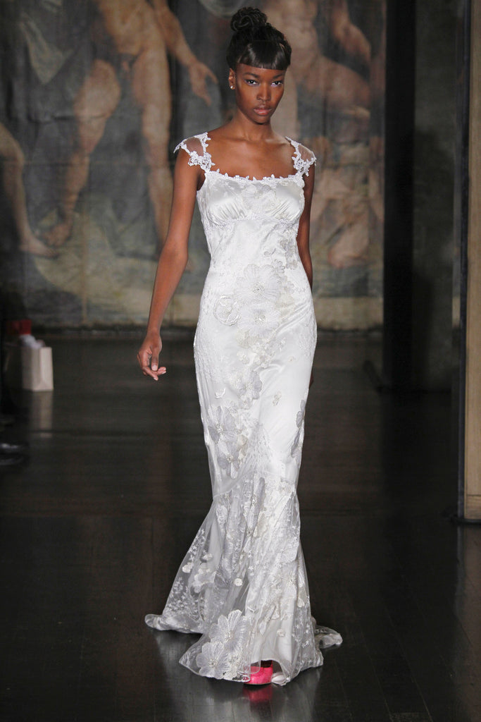 Orange Blossom - Wedding Dress by Claire Pettibone