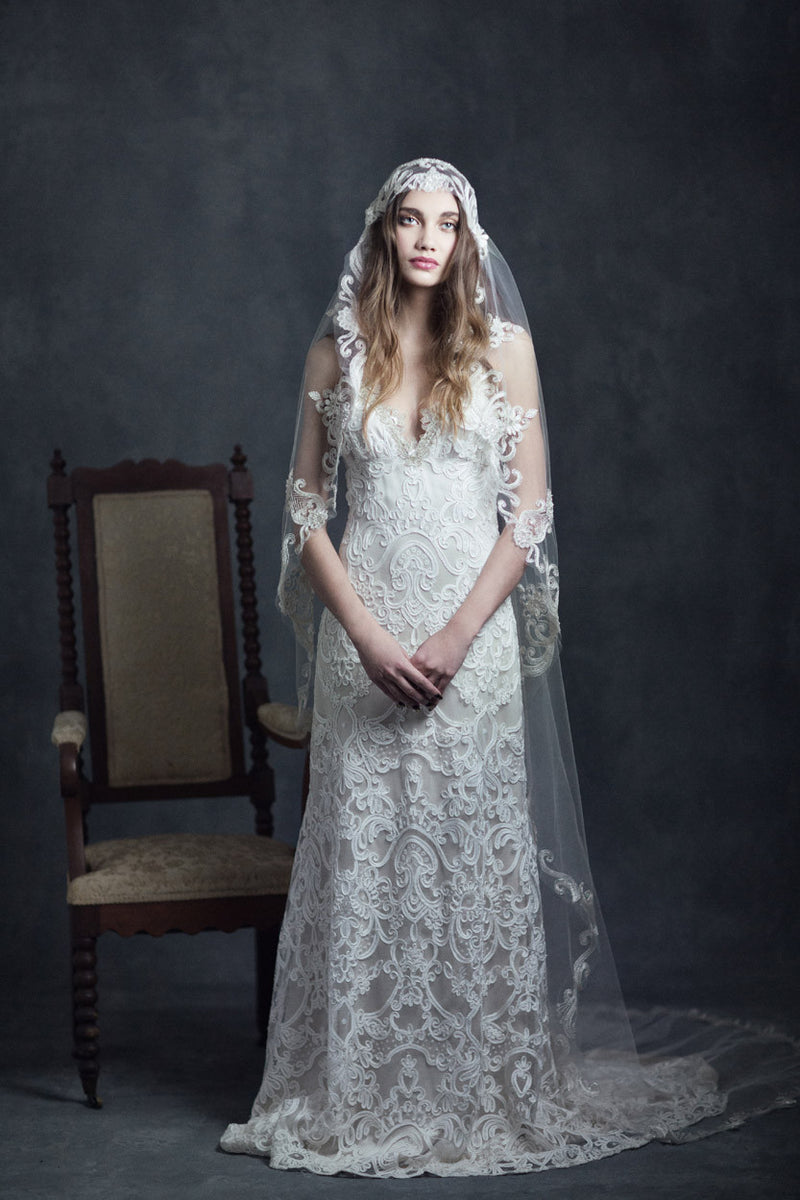 Faith - Couture Wedding Dress by Claire Pettibone campaign image full