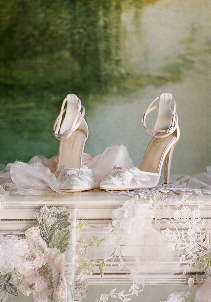 Wedding Shoes by Claire Pettibone