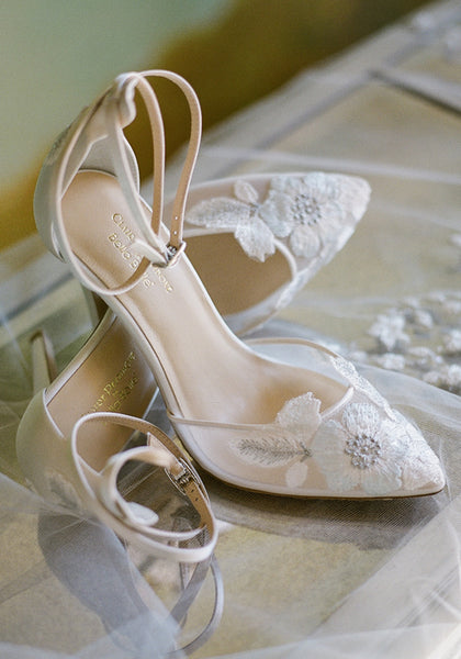 Freya Embroidered Wedding Shoes