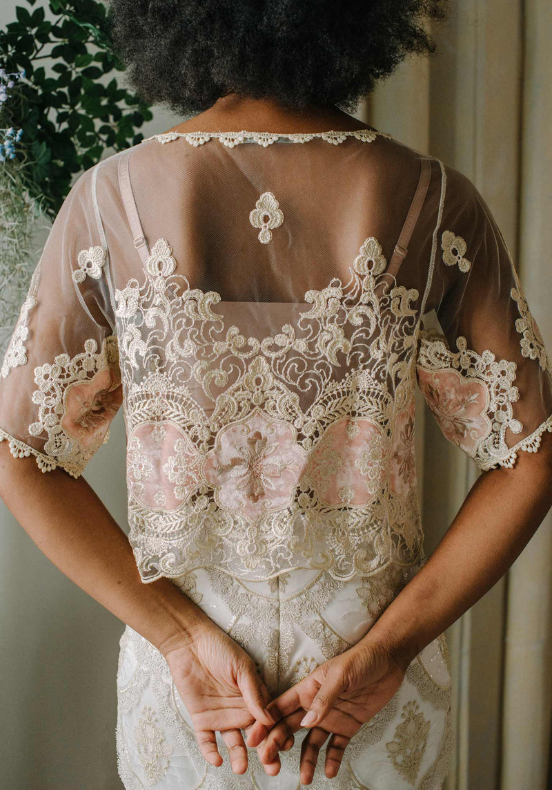 Genevieve Embroidered Top