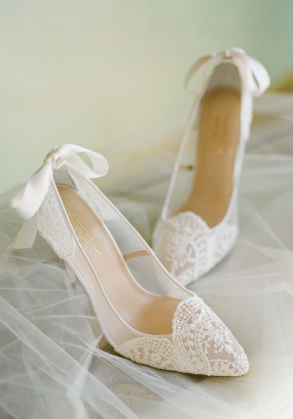 Giselle Lace Wedding Shoes