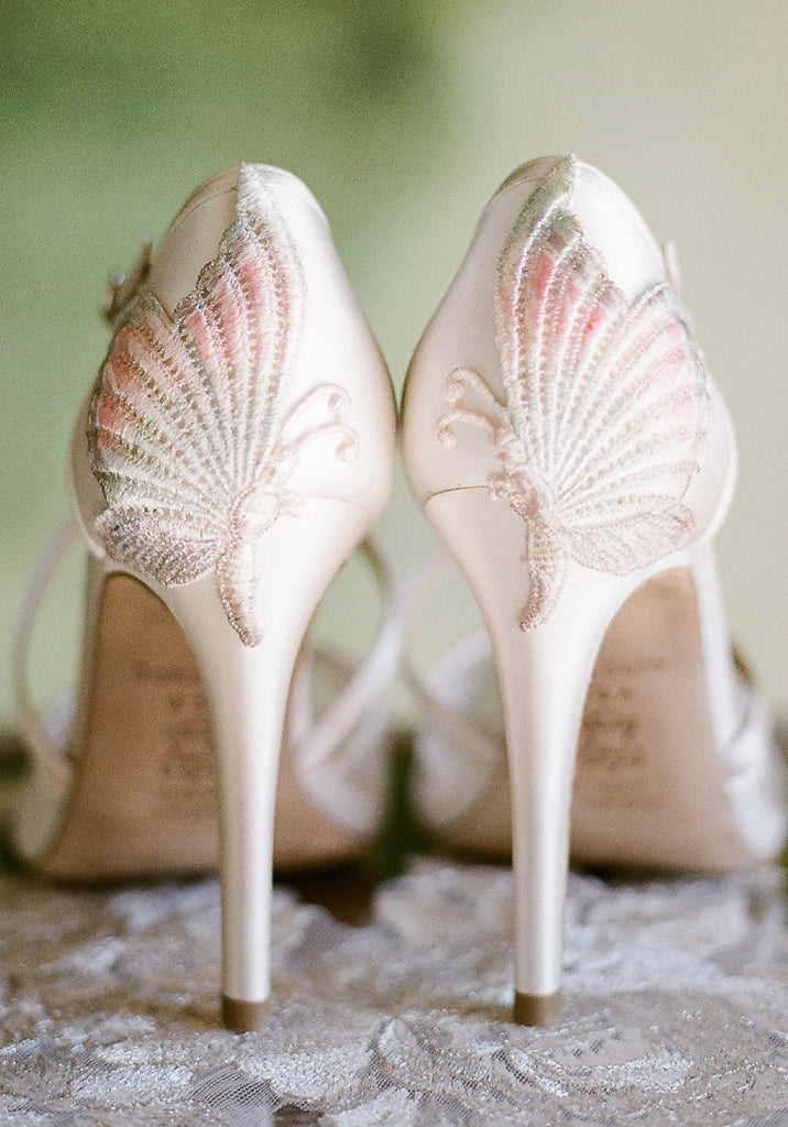 Mariposa Embroidered Wedding Shoes