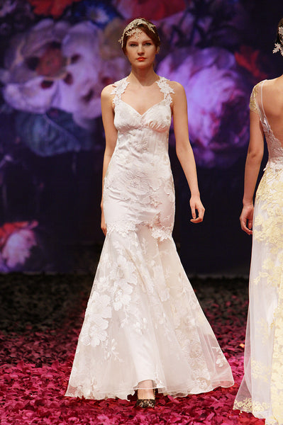 Mariposa - Wedding Dress by Claire Pettibone runway