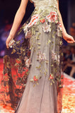 Raven - Wedding Dress by Claire Pettibone runway skirt