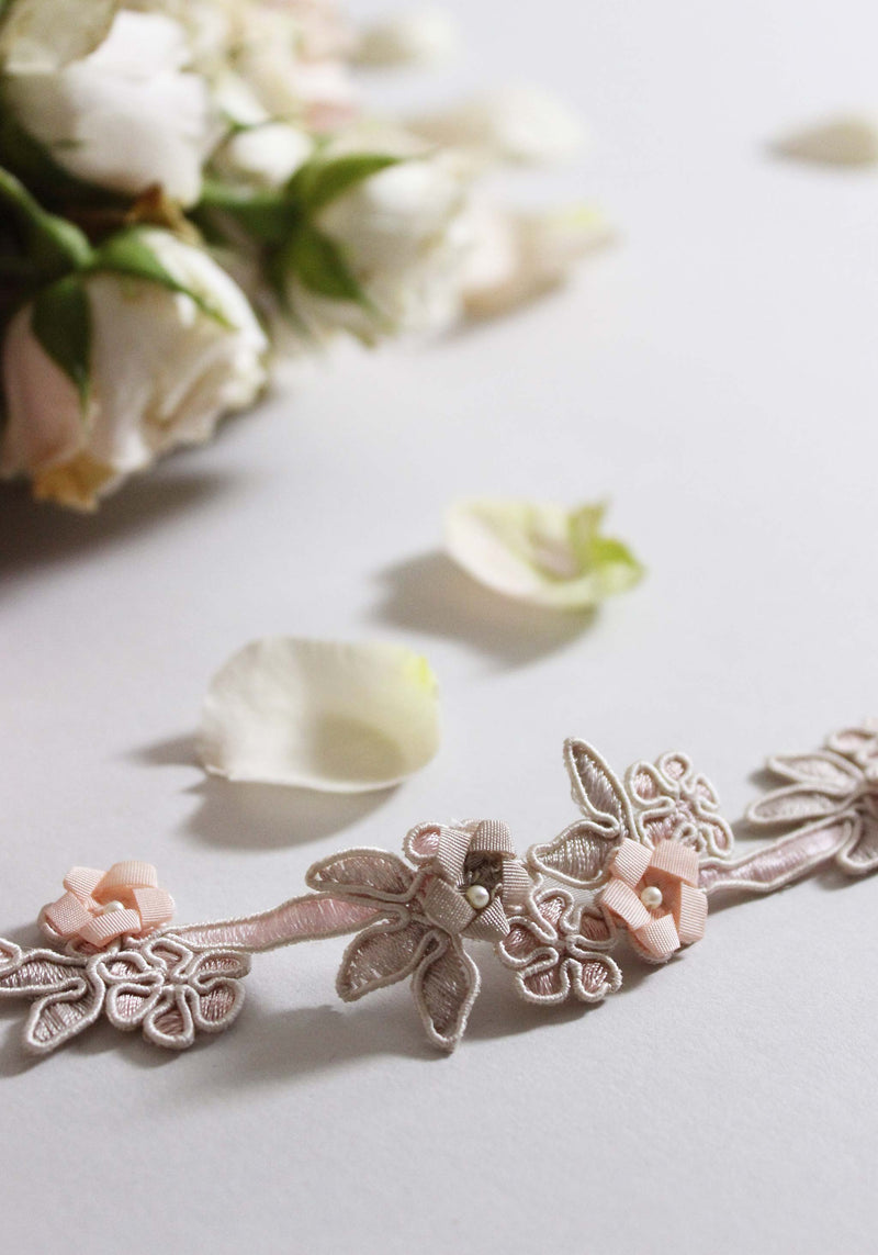 Renaissance Ribbon Flower Trim