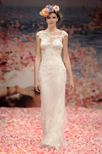 Adagio - Designer Lace Wedding Dress Claire Pettibone Couture
