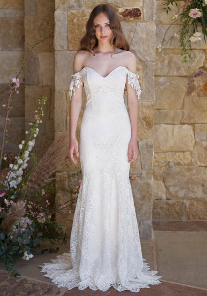 Romantique The Vineyard Collection Bordeaux Gown