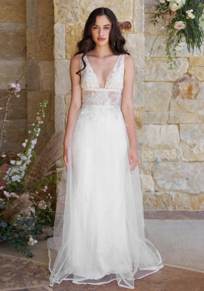 Romantique The Vineyard Collection Champagne Gown