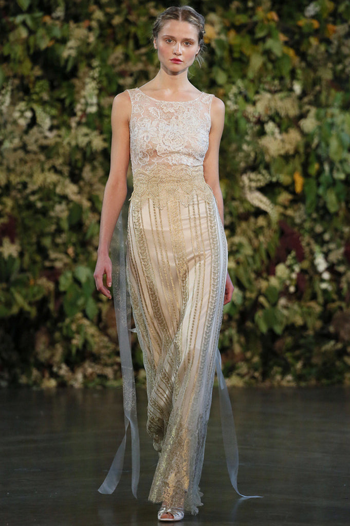 Chapelle - Couture Wedding dress by Claire Pettibone runway