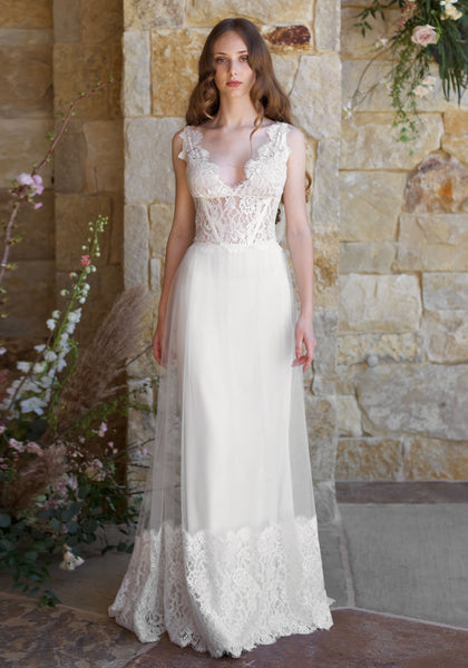 Romantique The Vineyard Collection Chardonnay Gown