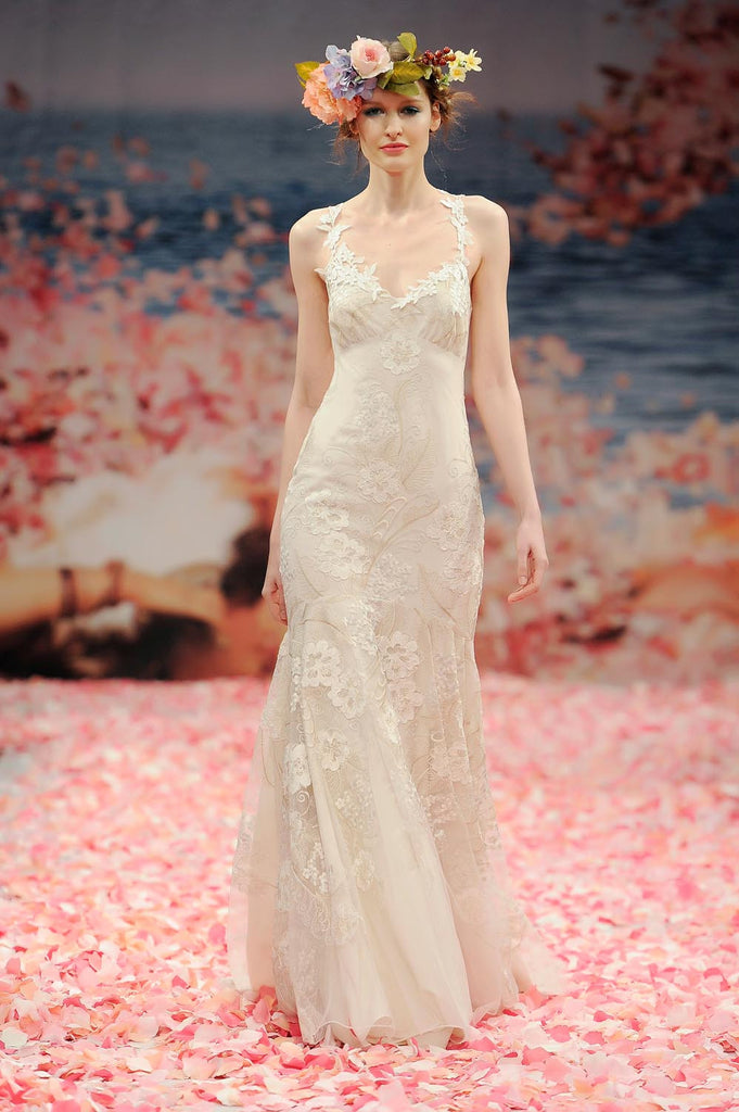 Devotion - Couture Wedding Dress by Claire Pettiobone runway full