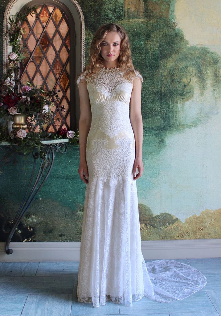 Dixie Lace Bridal Gown Romantique ClairePettibone