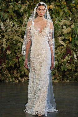 Faith - Couture Wedding Dress by Claire Pettibone runway full