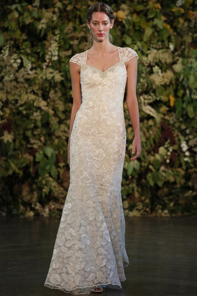 Gabrielle - Couture Wedding Dress by Claire Pettibone runway full