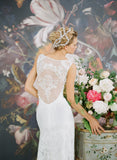 Iris - Wedding Dress by Claire Pettibone image back detail
