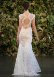 Jophiel - Wedding Dress by Claire Pettibone runway back full