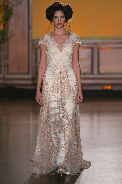 La Belle - Wedding Dress by Claire Pettibone
