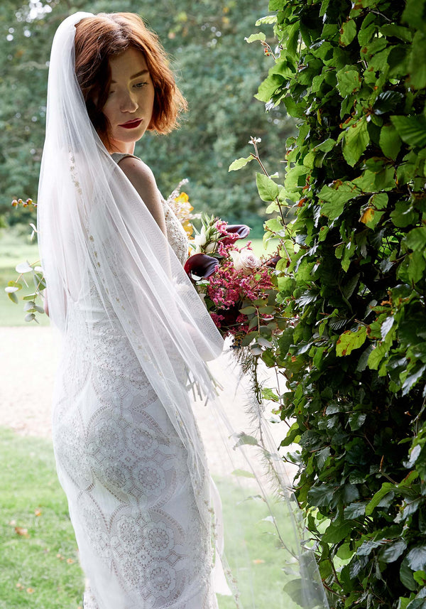 Claire Pettibone Madeleine Lace Wedding Gown