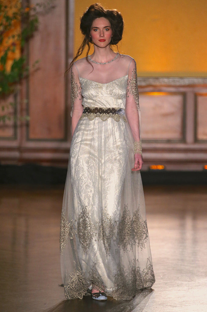 Morgan - Wedding Dress by Claire Pettibone runway