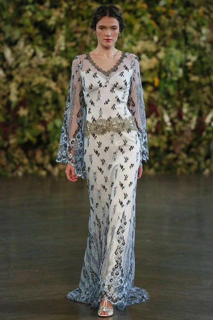 Notre Dame - Wedding Dress by Claire Pettibone runway