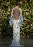 Notre Dame - Wedding Dress by Claire Pettibone runway back
