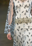 Notre Dame - Wedding Dress by Claire Pettibone runway front detail