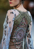 Notre Dame - Wedding Dress by Claire Pettibone runway back detail