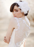 Orange Blossom - Wedding Dress by Claire Pettibone sheer back