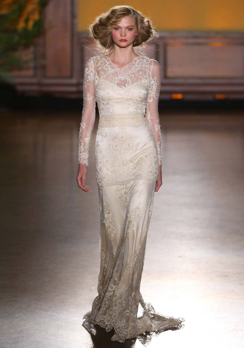 Claire Pettibone Pearle Designer Wedding Dress