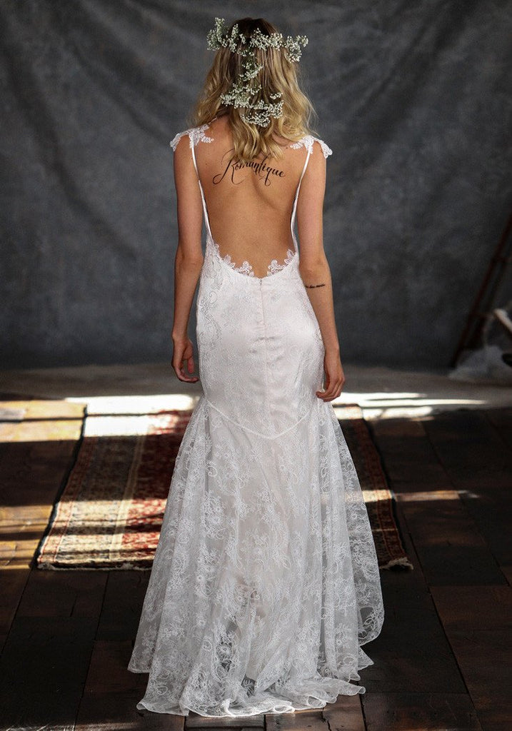 Rosemary Lace Bridal Gown Romantique ClairePettibone